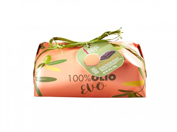LINGOTTO 100% OLIO EVO CON ARANCIA E CIOCCOLATO GR 250