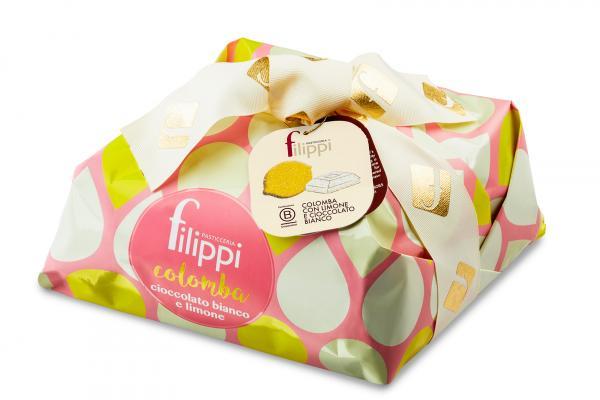 Speciale con limone e cioccolato bianco