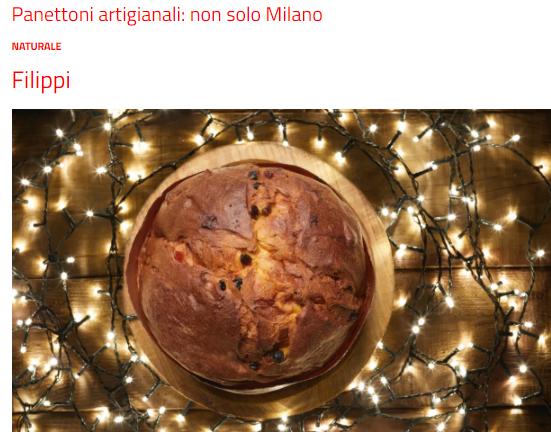 I migliori panettoni artigianali d'Italia